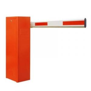 3.5m Orange Automatic Boom Barrier Car Parking Access Control By Hiphen Solutions Services Ltd.