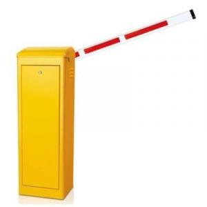 3.5m Yellow Automatic Boom Barrier Car Parking Access Control By Hiphen Solutions Services Ltd.