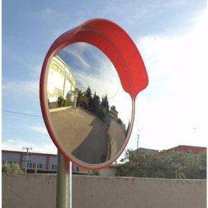 45cm Acrylic Convex Safety Mirror for Road Safety & Shop Security By Hiphen Solutions Services Ltd.