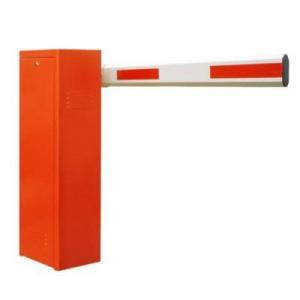 6m Orange Automatic Boom Barrier Car Parking Access Control By Hiphen Solutions Services Ltd.