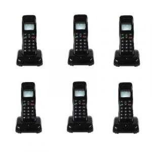 Mobile Wireless Intercom Phone - 6 Extensions Cordless Handsets By Hiphen Solutions Services Ltd.