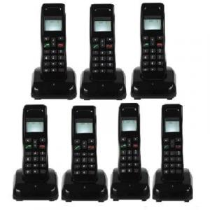 Mobile Wireless Intercom Phone - 7 Extensions Cordless Handsets By Hiphen Solutions Services Ltd.