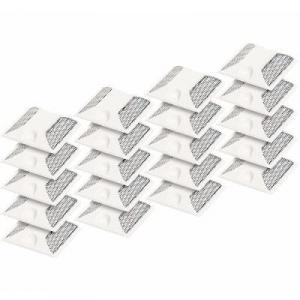 Pack of 20 Commercial Reflective Road Pavement Marker - White By Hiphen Solutions Services Ltd.