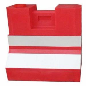 Set of 5 Plastic Road Safety Barricade Barrier By Hiphen Solutions Services Ltd.