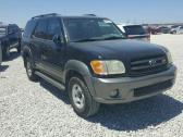 CLEAN 2004 TOYOTA SEQUOIA FOR SALE AT AUCTION PRICE CONTACT MR AZA ON +2349031964927