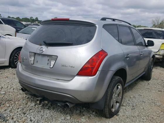 2004 NISSAN MURANO FOR SALE AT AUCTION CALL 08067816891