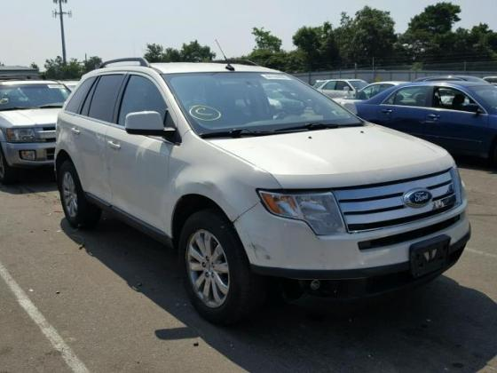 VERY GOOD SOUND 2008 FORD EDGE LIMITED FOR SALE CALL +2349031964927