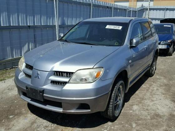 2005 MITSUBISHI OUTLANDER FOR SALE AT FULL AUCTION PRICE