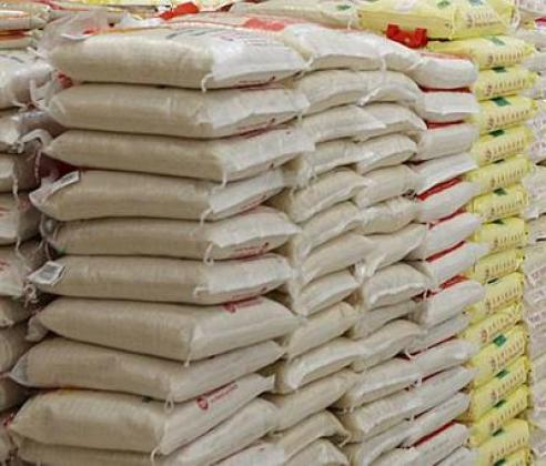 AUCTION RICE 50KG AND GROUNDNUT  OIL 25 LITRES