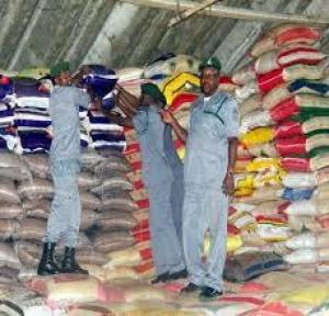 AUCTION RICE 50KG AND GROUNDNUT  OIL 25 LITRES 07062833115