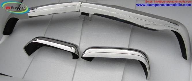 Mercedes W113 bumper kit (1963 -1971) stainless steel