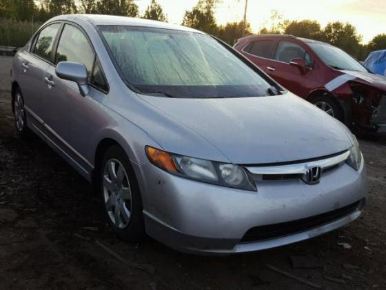 VERY GOOD SOUND 2007 HONDA CIVIC  FOR SALE CONTACT ON +2349031964927