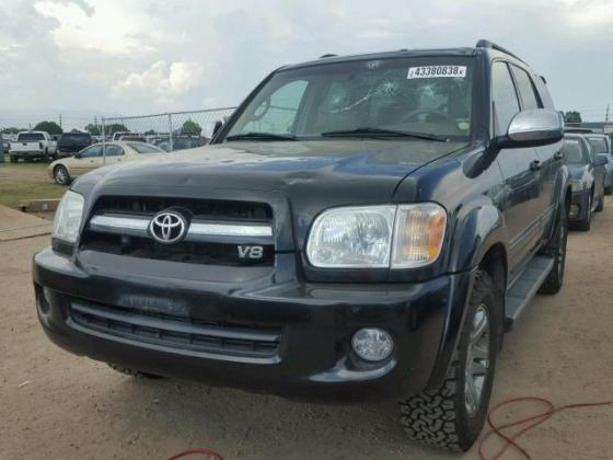 VERY GOOD SOUND 2007 TOYOTA SEQUOIA  FOR SALE CALL COMRADE AZA THOMAS ON +2349031964927