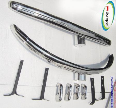 Volkswagen Beetle Split bumper kit (1930 – 1956) stainless steel