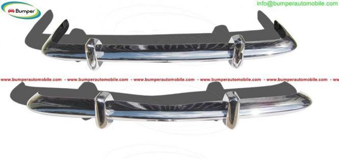 Volkswagen Karmann Ghia bumper type Euro by stainless steel