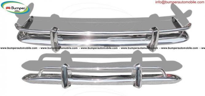 Volkswagen Karmann Ghia bumper USA type (1955 – 1966) stainless steel