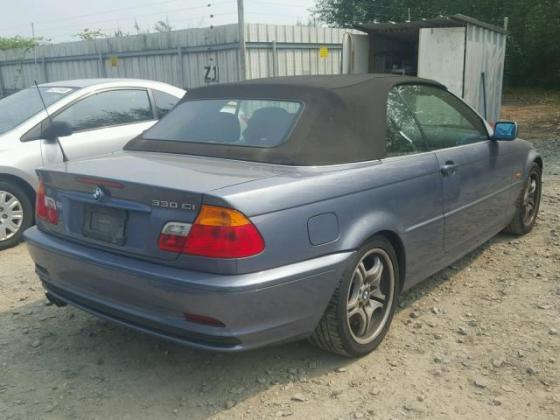 VERY GOOD SOUND 2001 BMW-330  FOR SALE CALL MR AZA THOMAS ON +2349031964927