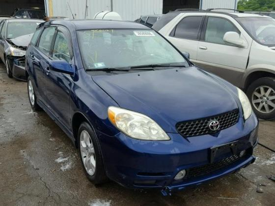VERY GOOD SOUND 2003 TOYOTA MATRIX  FOR SALE CALL MR AZA THOMAS ON +2349031964927