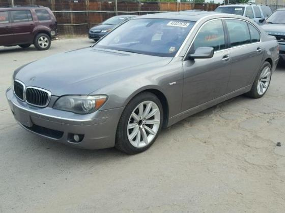 VERY GOOD SOUND 2007 BMW-750 FOR SALE CALL MR AZA THOMAS ON +2349031964927