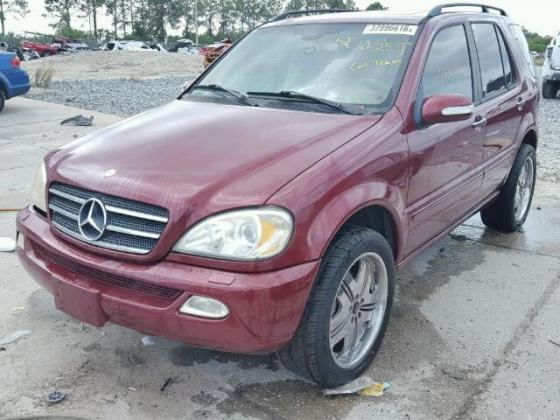 2004 MERCEDES-BENZ ML500 CALL COMPTROLLER. (MRS.) ADEYEMI PATRICIA ON 07064325624