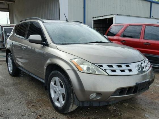CLEAN 2003 NISSAN MURANO FOR SALE CALL MR AZA ON +2349031964927