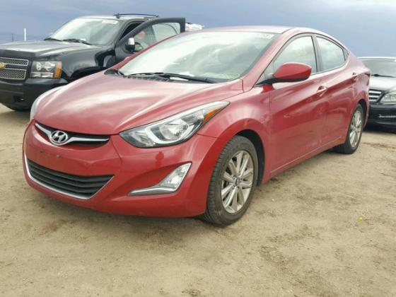 CLEAN 2014 HYUNDAI ELANTRA FOR SALE AT AUCTION PRICE CALL 08067816891