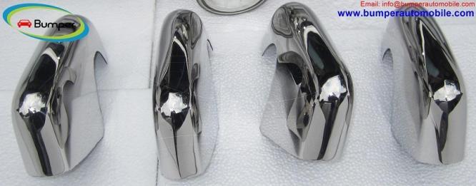 Volkswagen Type 3 bumper kit ( 1963 - 1969 ) stainless steel