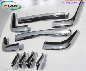 Volkswagen Karmann Ghia Type 34 bumper kit (1962-1969) stainless steel
