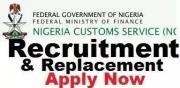 Nigeria Custom Service 2019/2020 Recruitment & Replacement form call 09062357390