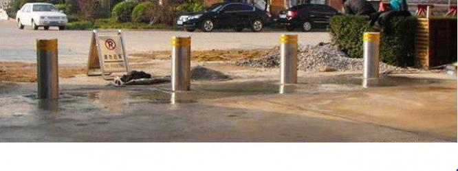 Access Control Barriers Hydraulic Bollards Security Auto Bollards By HIPHEN SOLUTIONS SERVICES LTD.