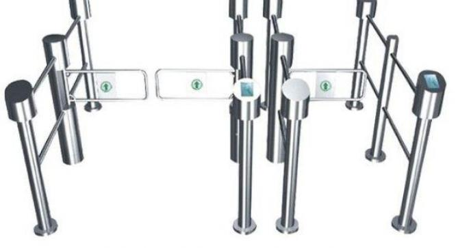Auto Alarm Swing Gate IR Sensor Barrier Turnstile By HIPHEN SOLUTIONS SERVICES LTD.