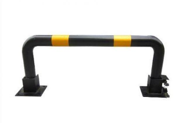 Black And Yellow Security Wheel Lock By HIPHEN SOLUTIONS SERVICES LTD.