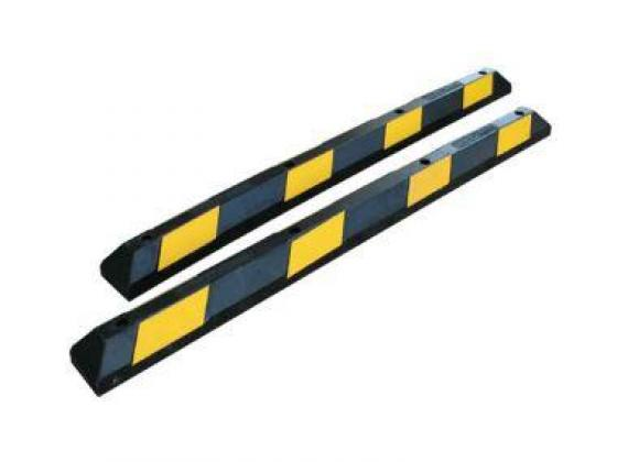 Black And Yellow Wheel Stopper By HIPHEN SOLUTIONS SERVICES LTD.