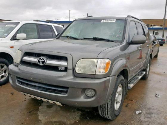 CLEAN  2007 TOYOTA  SEQUOIA FOR SALE AT AUCTION PRICE CALL MR AZA THOMAS  ON 09031964927