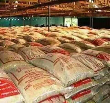Different types of rice for sale