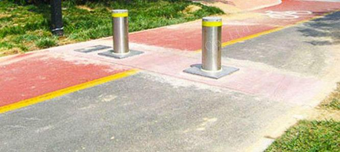 Expandable Safety Barrier Traffic Rising Bollard By HIPHEN SOLUTIONS SERVICES LTD.