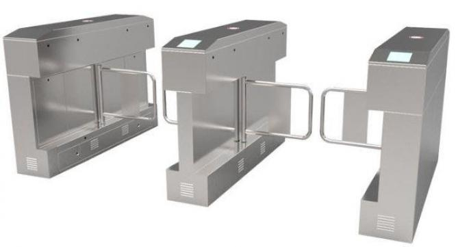 IR Sensor Swing Gate Double Core High Security Turnstile By HIPHEN SOLUTIONS SERVICES LTD.