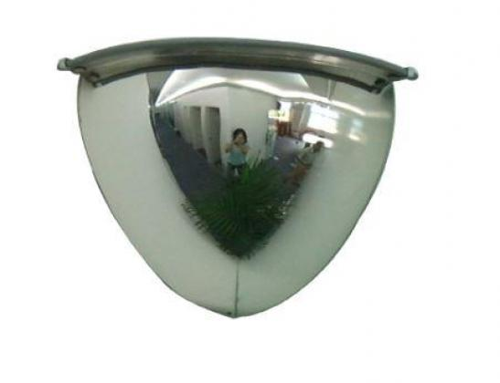 Quarter Dome 90 Degree View Traffic Convex Mirror By HIPHEN SOLUTIONS SERVICES LTD.