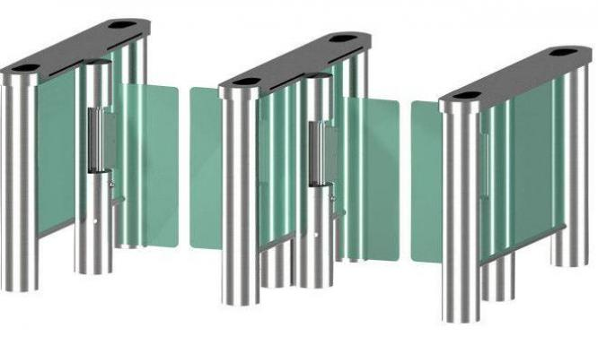 RIFD IR Sensor Swing Gate Station Luggage Turnstile Barrier By HIPHEN SOLUTIONS SERVICES LTD.