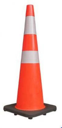 Rubber Base Plastic Traffic Cone By HIPHEN SOLUTIONS SERVICES LTD.
