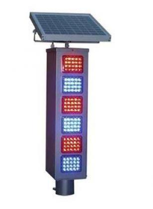 Solar Warning Traffic Light  By HIPHEN SOLUTIONS SERVICES LTD.