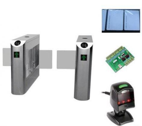 Swing Barrier Gate Bridge - Type Turnstiles With Remote Control Switch By HIPHEN SOLUTIONS SERVICES LTD.