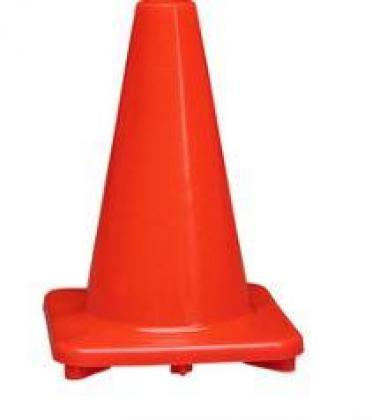 Traffic Water Road Block Cone By HIPHEN SOLUTIONS SERVICES LTD.