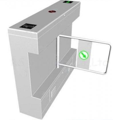 Two Way Swing Barrier Gate IR Sensor Access Control By HIPHEN SOLUTIONS SERVICES LTD.
