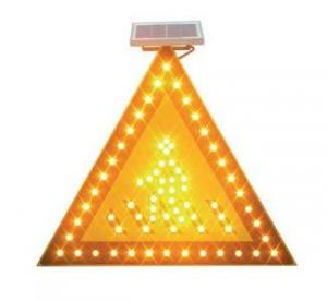 Solar Traffic Caution Pedestrian Crossing Sign By HIPHEN SOLUTIONS SERVICES LTD.