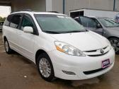 2010 CLEAN WHITE TOYOTA SIENNA FOR SALE CALL MR AZA THOMAS ON 09031964927