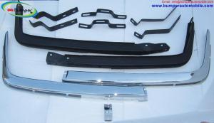Mercedes W107 Chrome bumper Euro by stainless steel