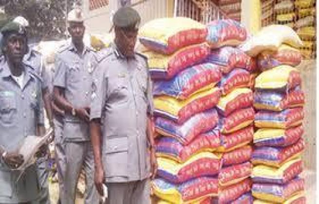 AUCTION SALES OF RICE AND GROUNDNUT OIL AND OTHER THINGS