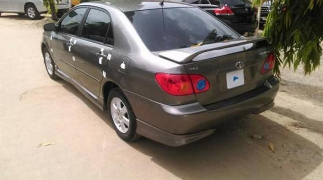 Direct tokubo Toyota corolla for #600, 000