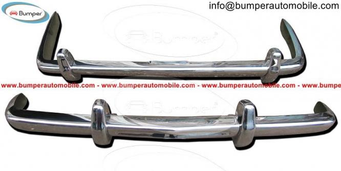Rolls Royce Silver Shadow bumper (1965-1977) stainless steel